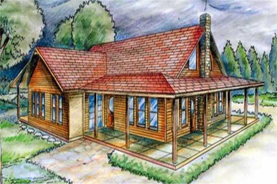 Main image for house plan # 9731