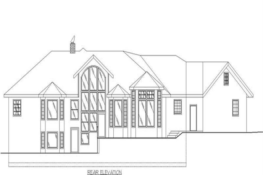 ELEVATION2 of this 2-Bedroom,2521 Sq Ft Plan -2521