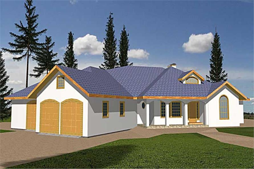 Main image for house plan # 9727