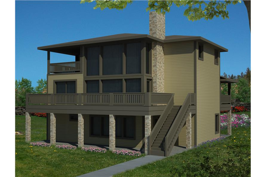 132-1530: Home Plan Rendering