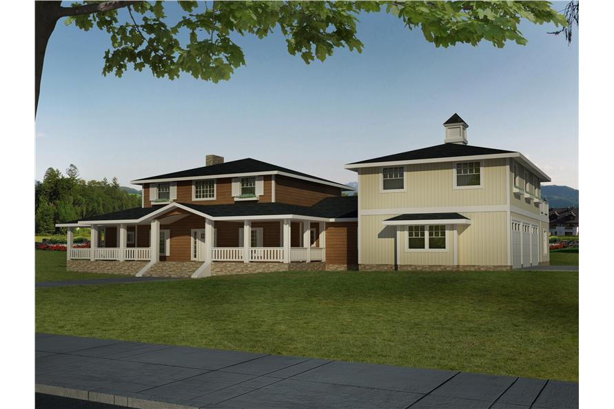 132-1532: Home Plan Rendering