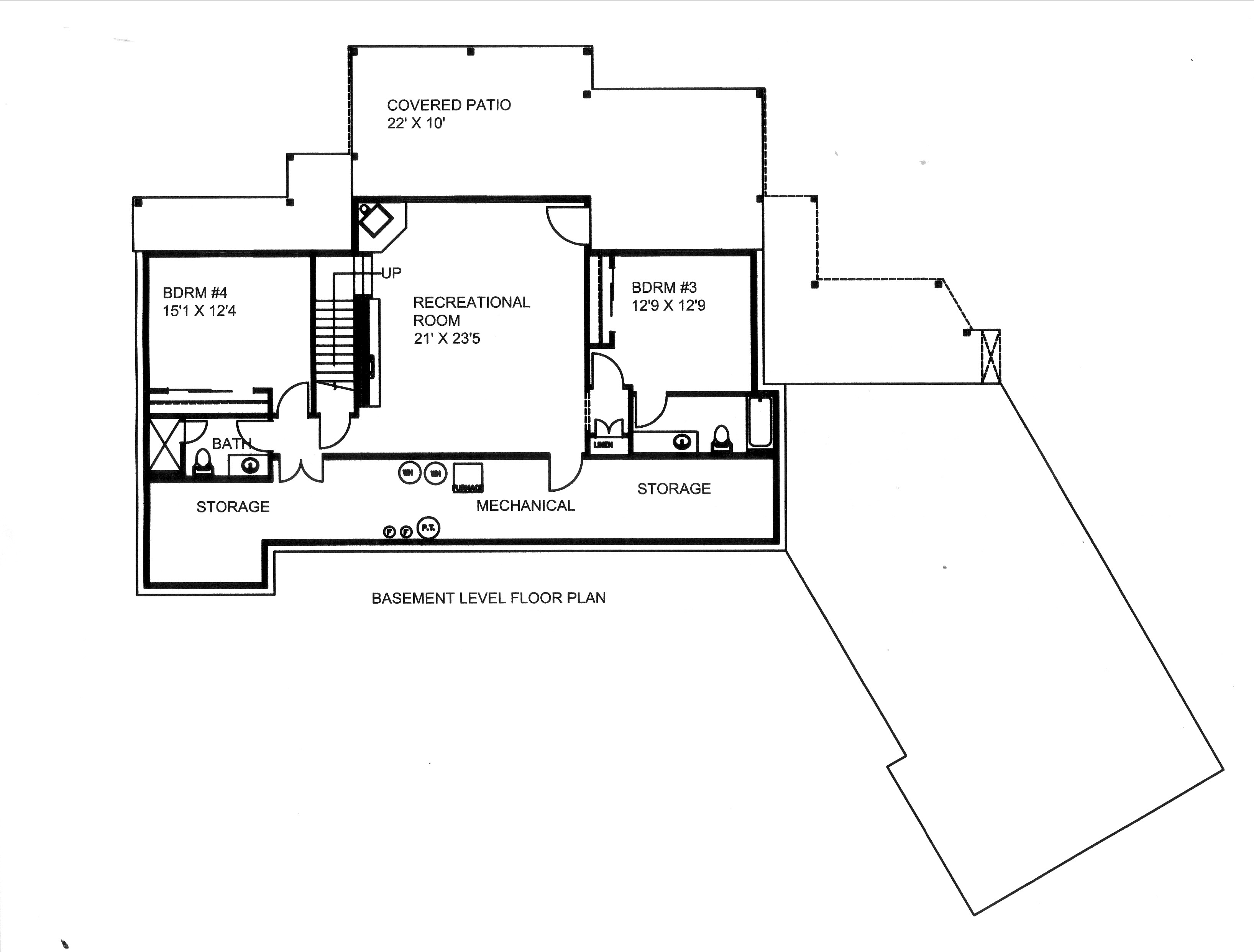 Traditional House Plan 132 1533 4 Bedrm 3801 Sq Ft Home