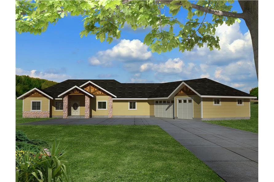 132-1533: Home Plan Rendering