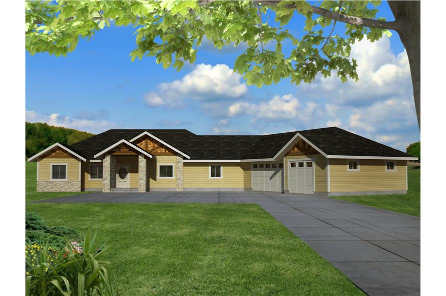 132-1533: Home Plan Rendering