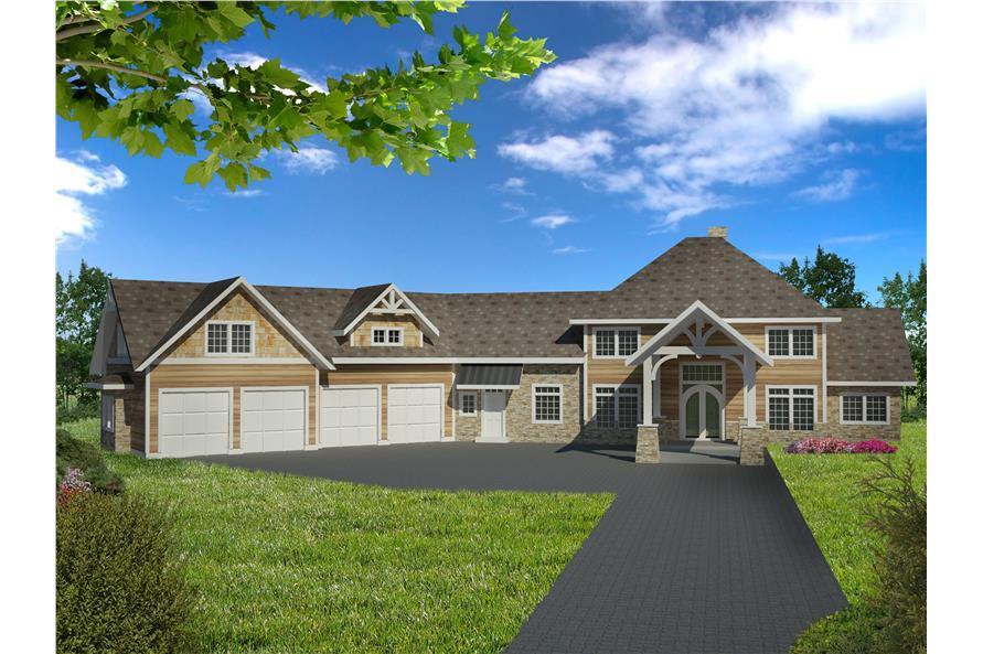 132-1536: Home Plan Rendering
