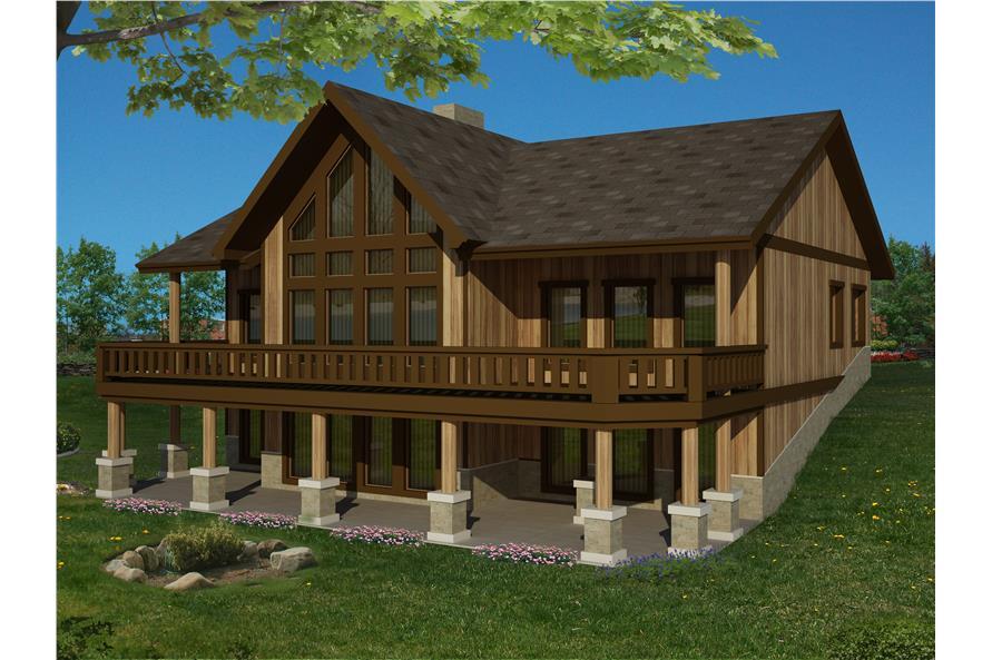 132-1542: Home Plan Rendering