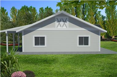 0-Bedroom, 2416 Sq Ft Garage House Plan - 132-1549 - Front Exterior