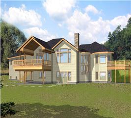 House Plan #132-1566