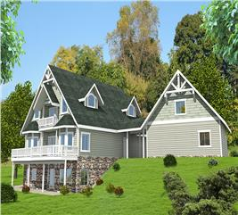 House Plan #132-1572