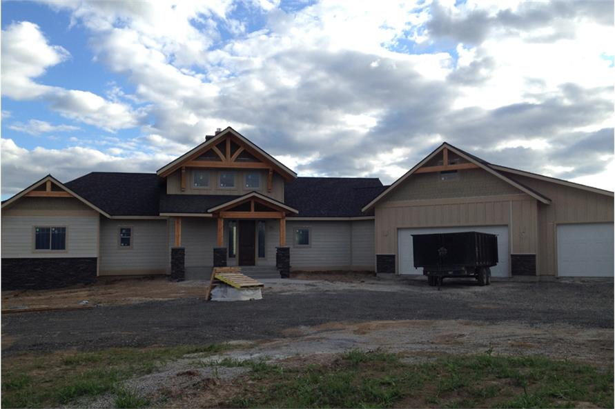 Home Exterior Photograph of this 3-Bedroom,4139 Sq Ft Plan -4139