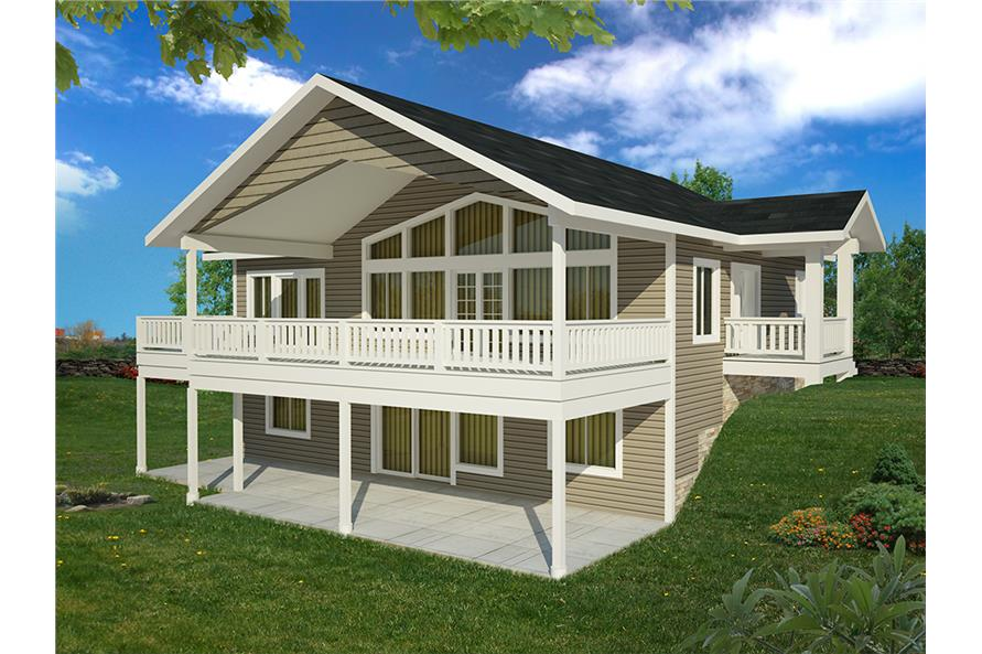 Home Plan Rendering of this 3-Bedroom,2880 Sq Ft Plan -2880