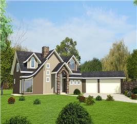 House Plan #132-1614