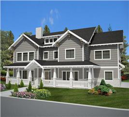 House Plan #132-1621
