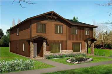 8-Bedroom, 3086 Sq Ft Country House Plan - 132-1625 - Front Exterior