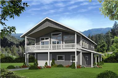 0-Bedroom, 2640 Sq Ft Garage House Plan - 132-1700 - Front Exterior
