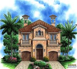 House Plan #133-1005