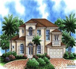 House Plan #133-1008