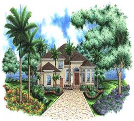House Plan #133-1016