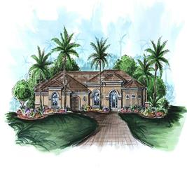 House Plan #133-1025