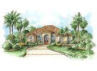 Main image for house plan # 9540