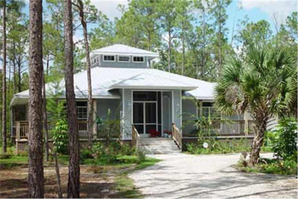 Florida house plans vacation house plan coastal home for House plans for florida homes