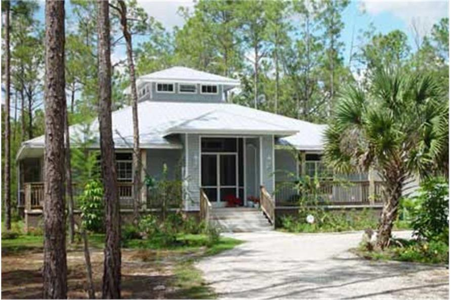 Florida house plans vacation house plan coastal home for Florida house plans with photos
