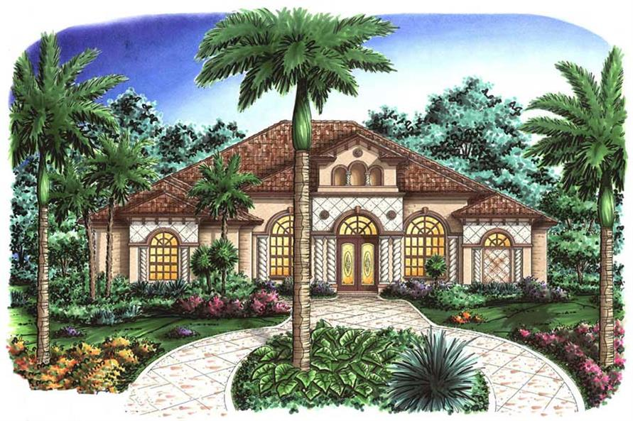 Mediterranean House Plans mediterranean exterior front elevation plan 135 166 houseplanscom 133 1056 Mediterranean House Plans