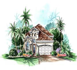 House Plan #133-1057