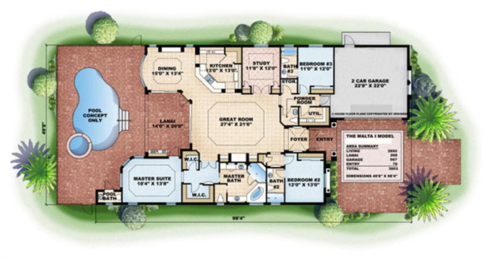 133-1061 house plan main image
