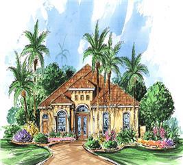 House Plan #133-1065