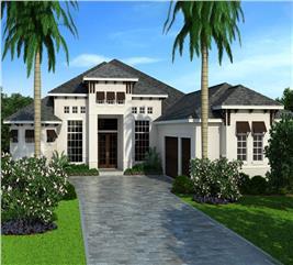 House Plan #133-1086