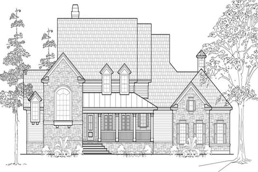 Main image for house plan # 19148