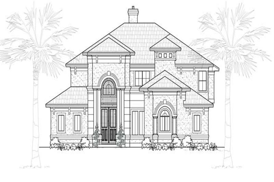 Main image for house plan # 19118