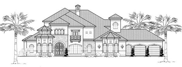 Main image for house plan # 19056