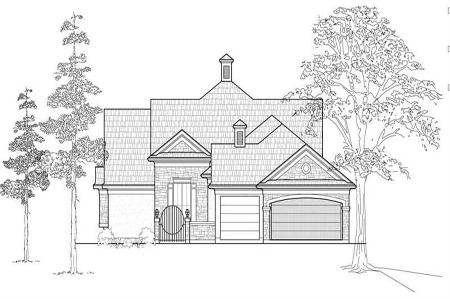 Main image for house plan # 18984