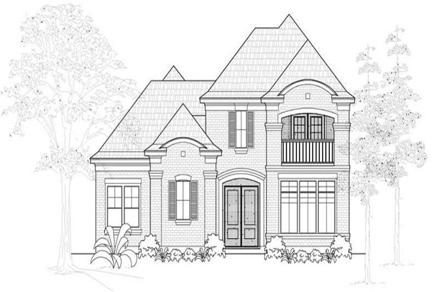 Main image for house plan # 18996
