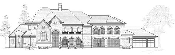Main image for house plan # 19036