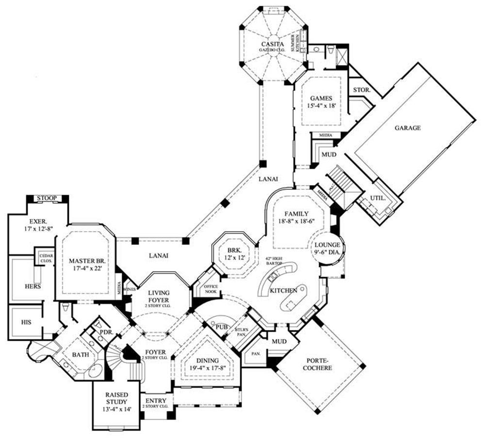 Large Images For House Plan 134 1019