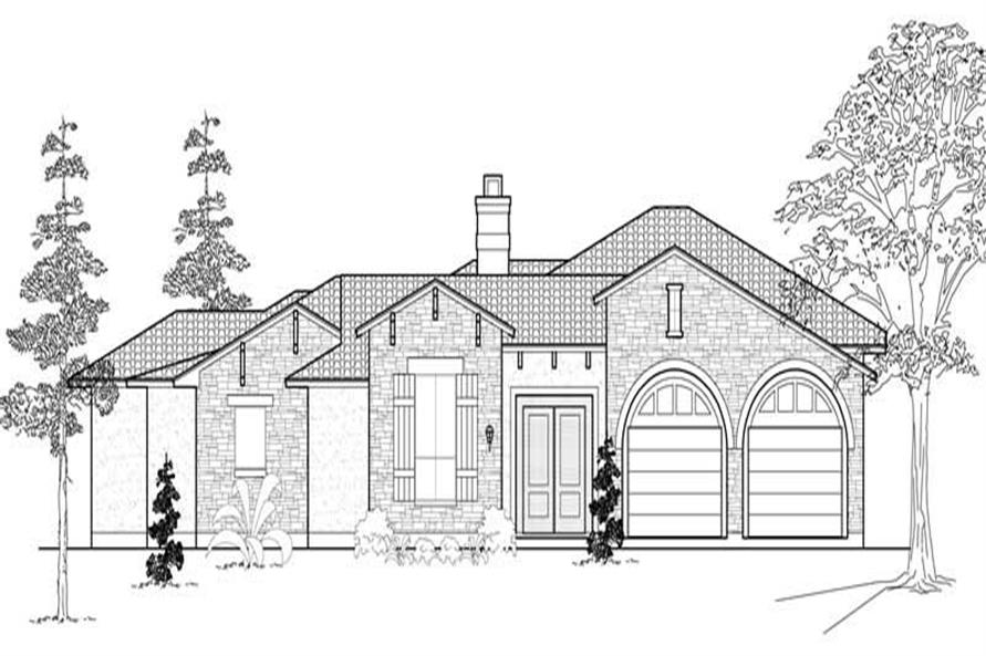 Main image for house plan # 18997