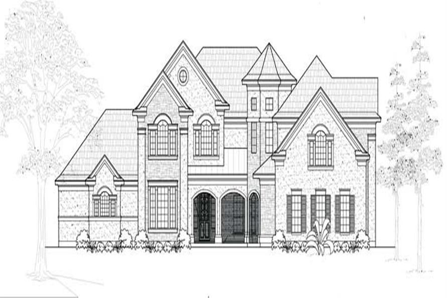 Main image for house plan # 19143