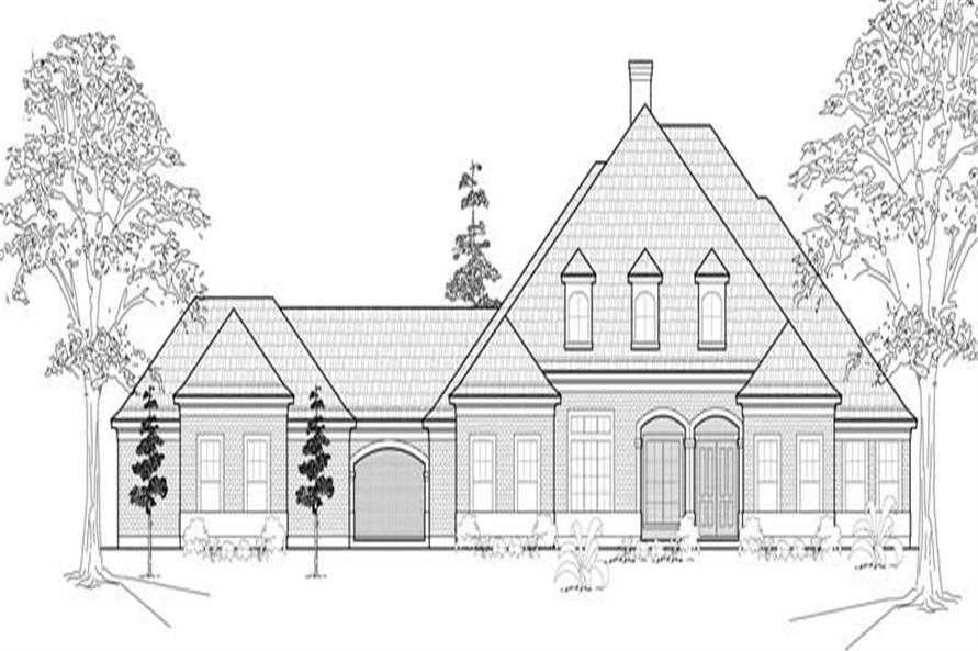 Main image for house plan # 19103