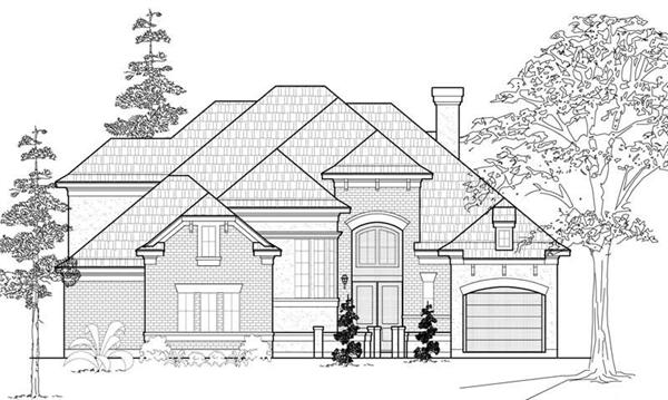 Main image for house plan # 19124