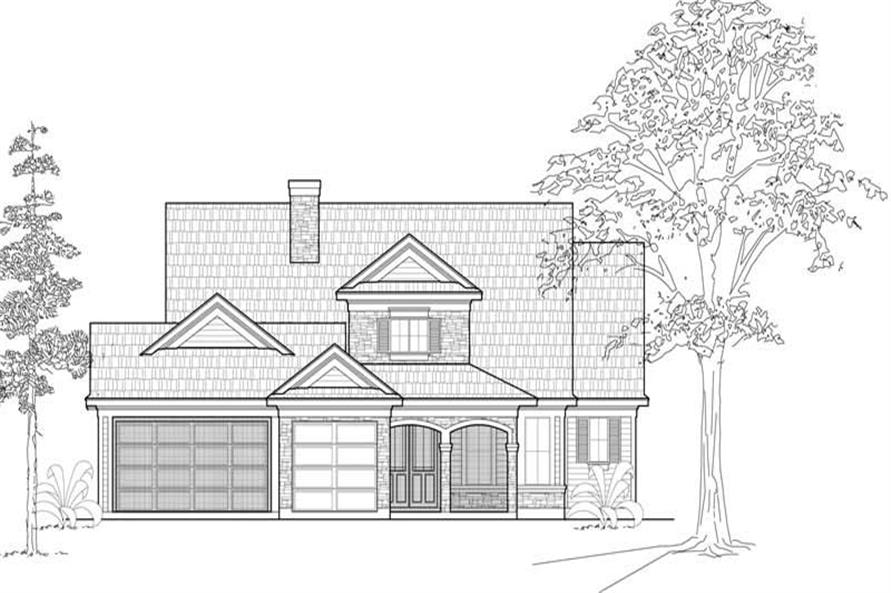 Main image for house plan # 18981