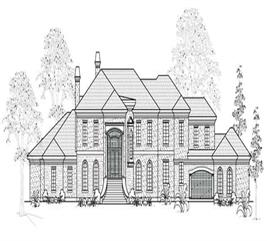 House Plan #134-1038