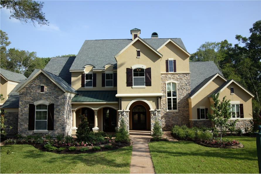 Traditional House Plan #134-1041: 4 Bedrm, 5881 Sq Ft Home