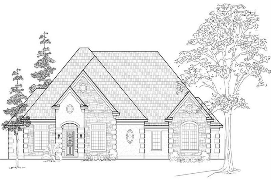 Main image for house plan # 19092