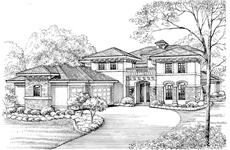 Main image for house plan # 19048