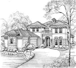 House Plan #134-1046