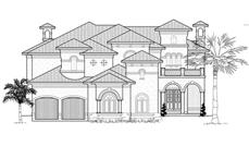Main image for house plan # 19042