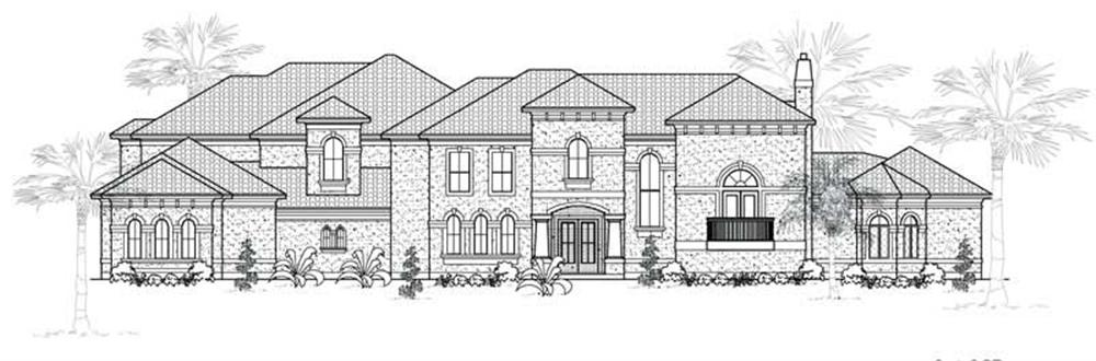 Main image for house plan # 19041